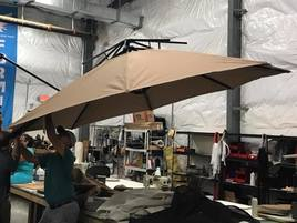 Commercial Umbrellas & Awnings