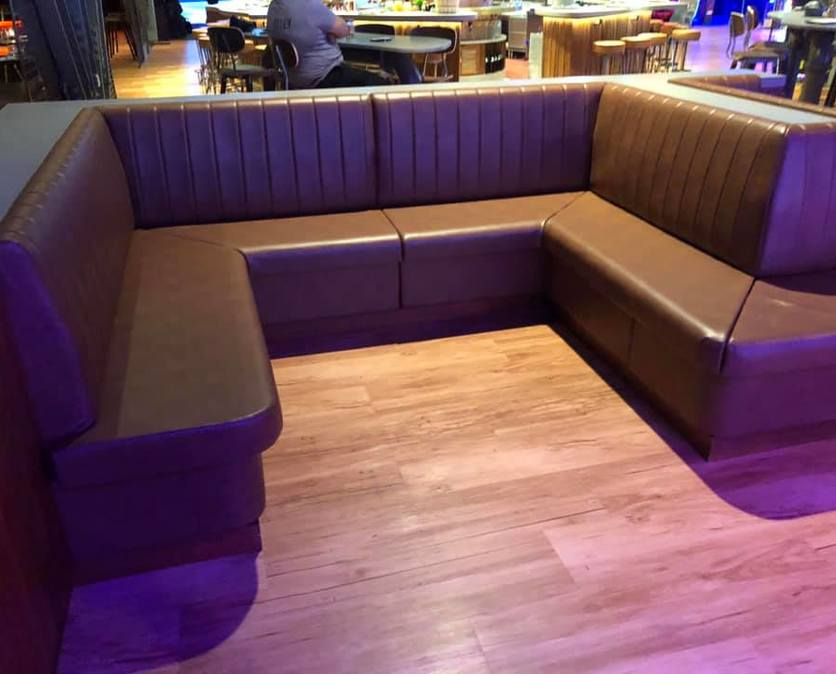 hotel Seating & Coverings from Naples Canvas and Upholstery